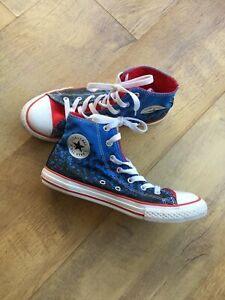 All-Star-Converse-Chuck-Taylor-Red-White-And-Blue-Trainers-Shoes-Size-4-Eur-37