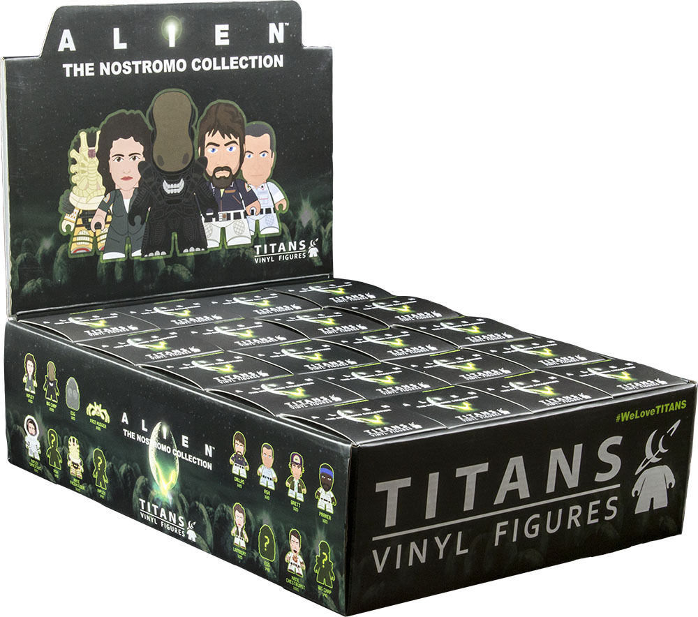 ALIEN - Nostromo Collection 3  Blind Box Vinyl Figurines Display (20ct)  NEW