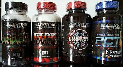Blackstone Labs Gear Support / Eradicate / Growth / PCT V - Ultimate PCT Stack!