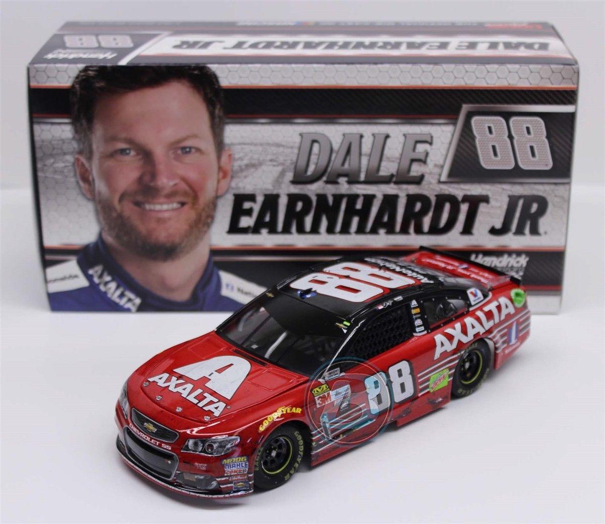 NASCAR 2017 DALE EARNHARDT JR #88 HOMESTEAD RACED VERSION FINAL RIDE 1/24 CAR