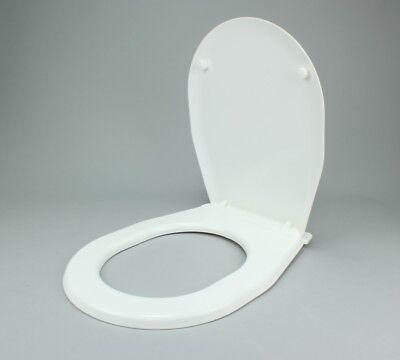 Toilettensitze Toilettendeckel Klodeckel Weißer Universal-toilettensitz Weiß Mit Ablage SpäTester Style-Online-Verkauf Von 2019 50% Möbel & Wohnen