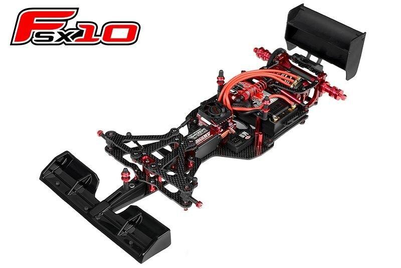 Team CORALLY fsx-10 formula chassis-costruzione modulare senza elettronica-c-00120