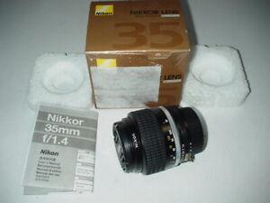 Nikon-Nikkor-Lens-MF-35mm-f-1-4-Objektiv-fuer-Nikon-Kameras-JAA115AD