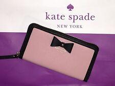 NWT Kate Spade New York Hazel Court Lacey Wallet Pink Bonnet Color PWRU4477 $198
