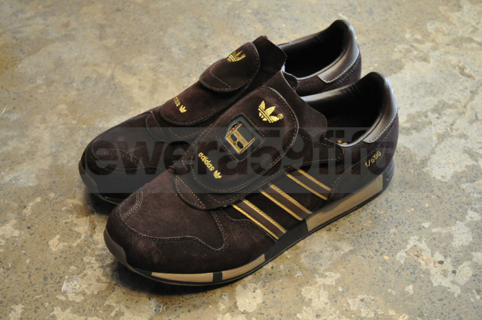 62e079336 Adidas Micropacer Express Black Gold (Buck) - UK 10  US 10.5  EU ...