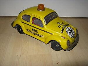 VW-KAFER-TAIYO-Japan-ADAC-Strassenwacht-25-cm-Made-in-Japan-Taiyo-VW-Beetle