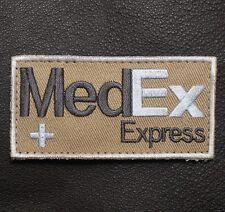 MEDEX EXPRESS TACTICAL MEDIC EMT EMS BADGE SWAT VELCRO® BRAND FASTENER PATCH