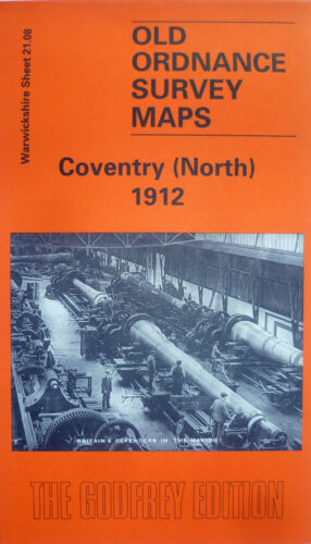 North Old Ordnance Survey Maps Coventry Warwickshire 1912  S21.08 New Map