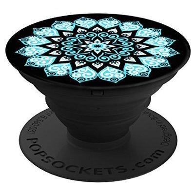 Mandala Phone Tablet Case Grip Popsocket Stand Car Mount Earphone Holder 001