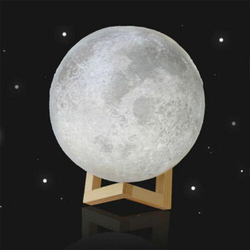 3D USB LED Magical Moon Night Light Moonlight Table Desk Moon Lamp Home Decor CY