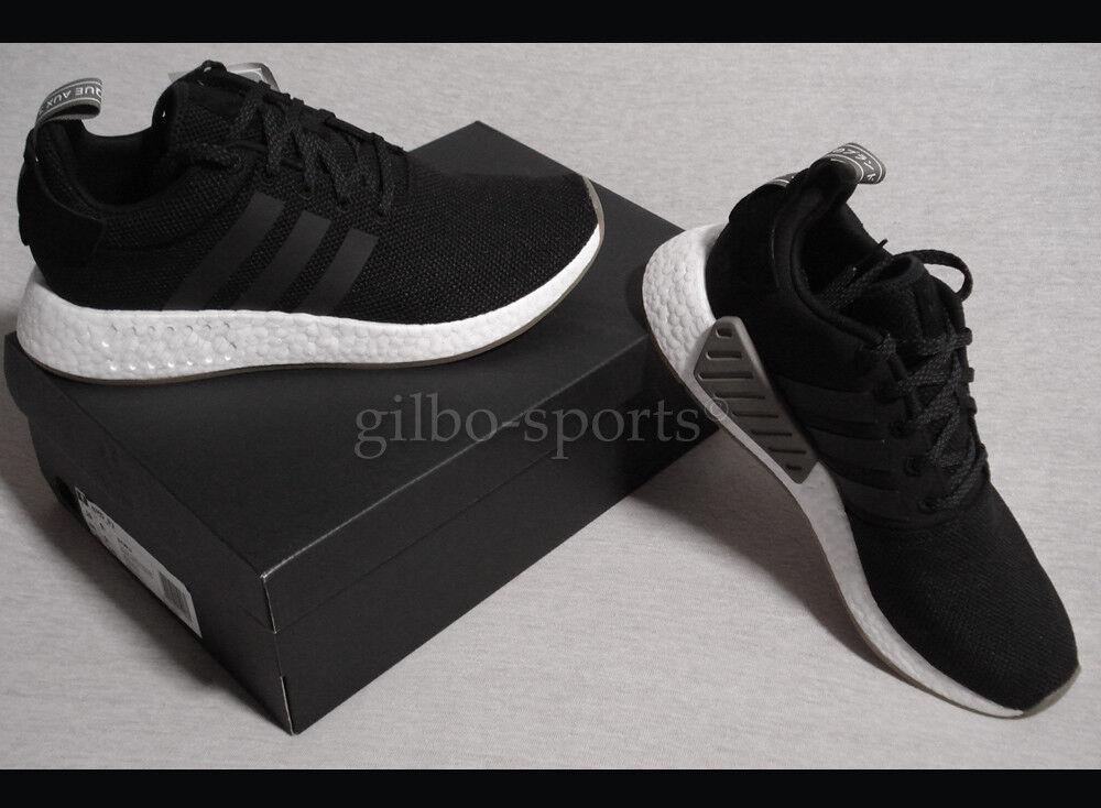 Adidas Originals NMD_R2 Black White Gr. 42 2 3 42,5 45 1 3 Neu BY9917