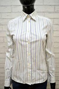 Camicia-Bianca-Donna-DOLCE-amp-GABBANA-Taglia-S-Maglia-Manica-Lunga-Shirt-Woman