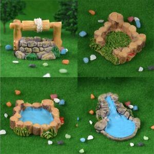 Resin-Water-Well-Pool-Miniature-Fairy-Garden-Decor-Landscape-Craft-Accessories