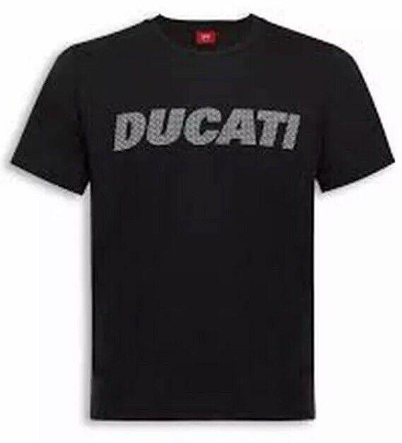Ducati Carbon Black T-Shirt 98769741*