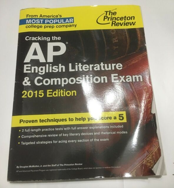 College Test Preparation Cracking The Ap English Literature And