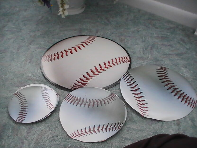 Lot Base Ball Cut Outs, Party Supplies Party Decorations