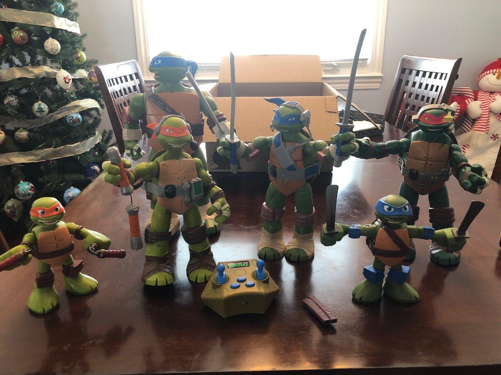Teenage Mutant Ninja Turtles Lot Of 6