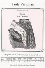 Schnittmuster Truly Victorian TV 280: Can-Can Skirt