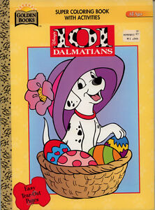 101 Dalmatians coloring book RARE | eBay