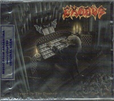 EXODUS TEMPO OF THE DAMNED SEALED CD NEW