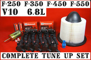 Details about Tune Up Set for 1999-2003 Ford F250 F350 F450 F550 V10 on