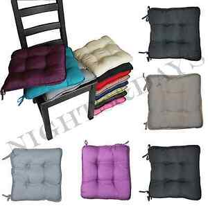 colourful seat pads dining room garden kitchen chair. Black Bedroom Furniture Sets. Home Design Ideas