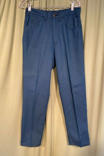 Vintage 60s 70s LEVI'S Sta-Prest Blue Jeans Pants