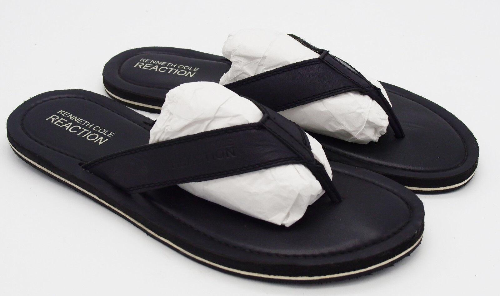 J4948 New Men's Kenneth Cole Reaction Coast Line Leather Sandal 12 M
