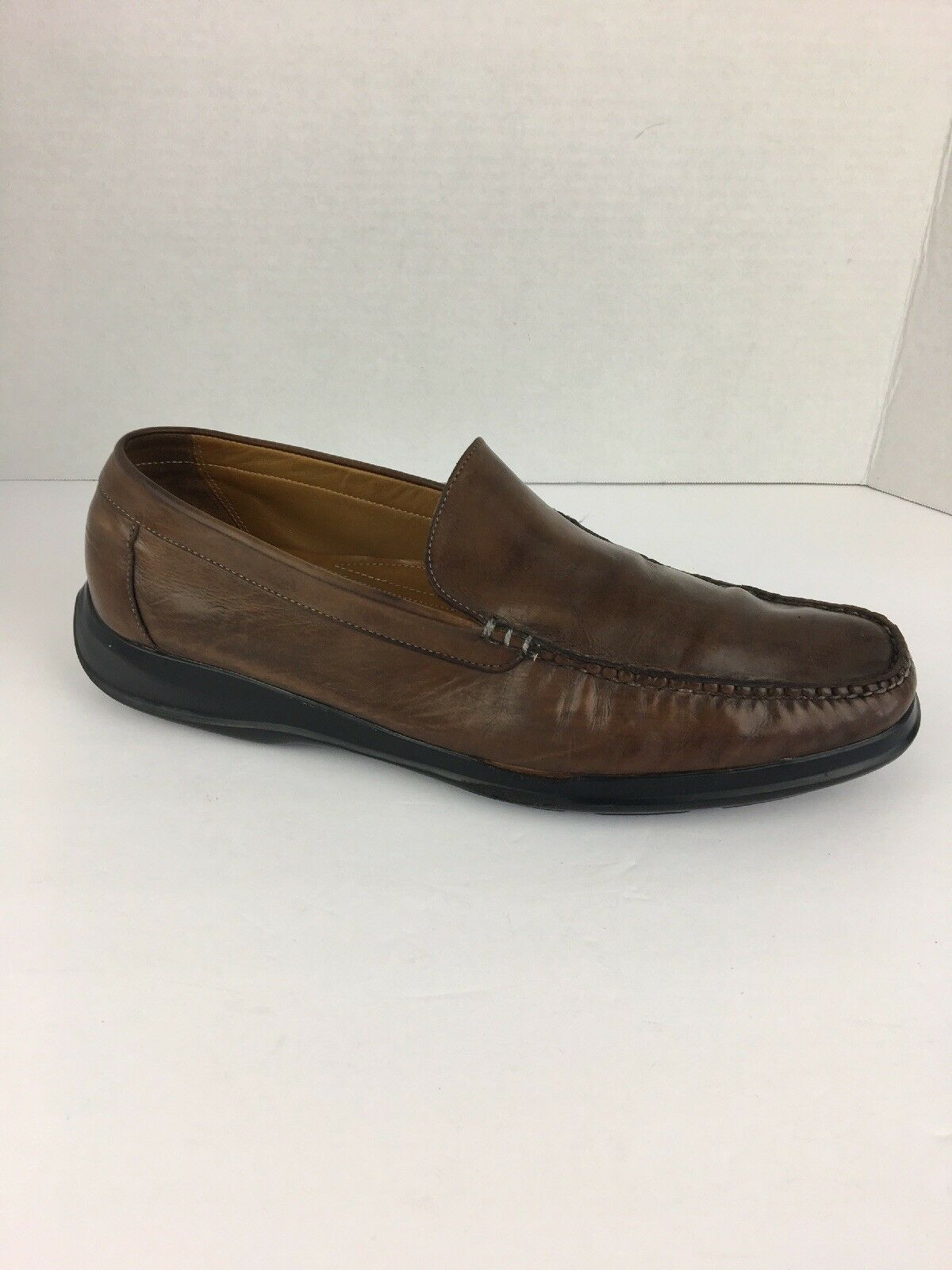Cole Haan Air Mens Shoes 12 M Dempsey Loafer Brown Leather Cushion Comfort Sole