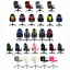 thumbnail 1 - REFURBISHED Neo Gaming Computer Desk Office Swivel Reclining Massage Chairs