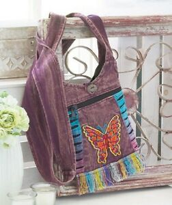 VINTAGE FRINGE CROSS BODY BAG - VARIOUS SELECTIONS - SEE DESCRIPTION