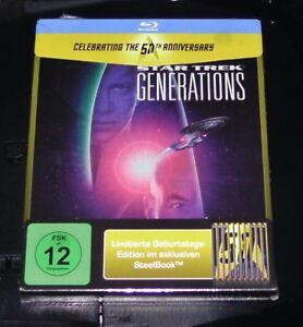 Star-Trek-7-Repondre-a-le-Generations-Limitee-en-Relief-Steelbook-Blu-Ray-Neuf