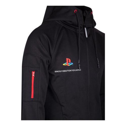 Sony Playstation Tech19 Full Length Zipper Hoodie Male