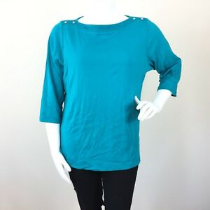 6622131c09e69 NEW Karen Scott Womens Sweater Top Plus Size 3X Green Ribbed ...