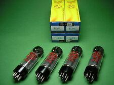 E34L JJ factory matched Quad NEU - die leistungsstärkere EL34 Röhre -> tube amp