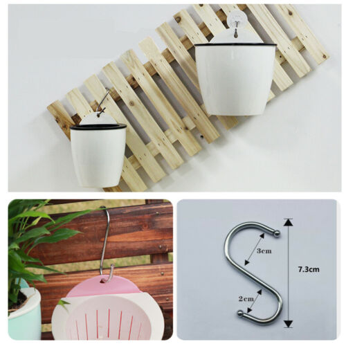 8pcs//set Plastic Self-watering Wall Flower Pot for Outdoor Indoor Small Planters
