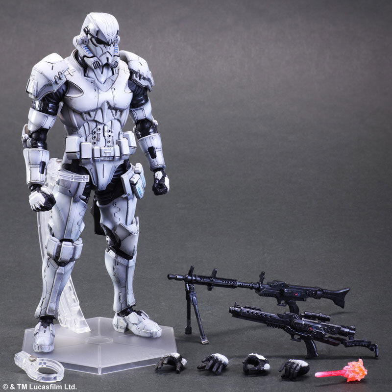 Square Enix Variant Play Arts Stormtrooper - NEW - Original