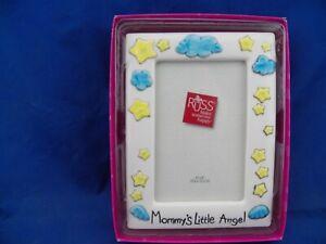 New Russ Skribbles Mommy S Little Angel 4x6 Boy Girl Photo Frame Frames Home Garden
