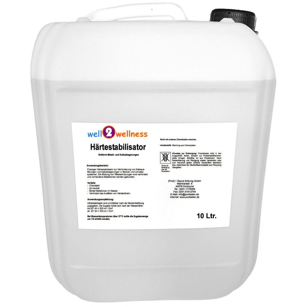 Pool Härtestabilisator / Härtestabilisat / Härte Stabilisator - 10 10 10 l f5e338