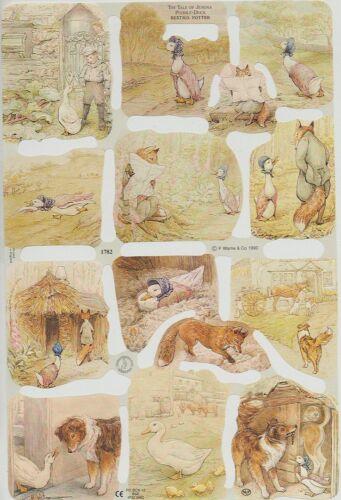 Chromo Le Suh Découpis Beatrix Potter The Tale of Jemina Puddle-Duck 1782