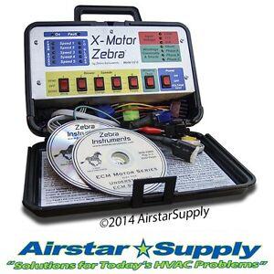 Zebra vz 7 hvac variable speed ecm motor diagnostic for Ecm blower motor tester