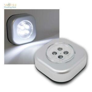 Touch Leuchte Lampe Mit Led Batterie Ohne Kabel Mobelleuchte Schrankleuchte Ebay