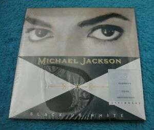 Michael-JACKSON-Dual-Disc-034-BLACK-OR-WHITE-034-VISIONARY-CD-DVD-Video-Nouveau-neuf-dans-sa-boite
