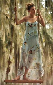 Anthropologie-Rainflower-Lace-Hi-Lo-Maxi-Dress-by-Sachin-Babi-Size-12-228