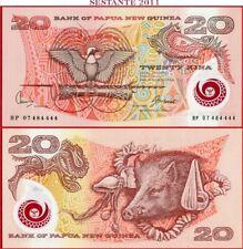 UNC/> POLYMER 2007 P-31 20 Kina Papua New Guinea