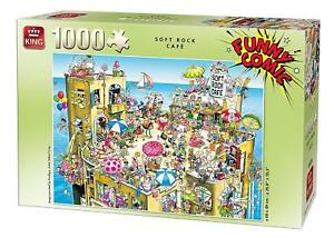 1000 Pièce Funny Comic Cartoon Parti Jigsaw Puzzle-salt Rock Cafe Mayhem 5226