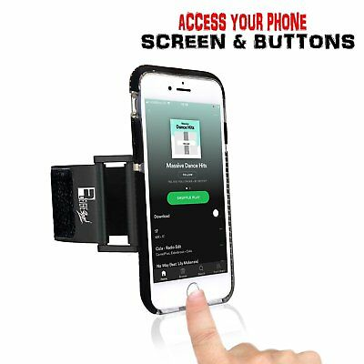 newest collection 8cca7 c2d17 iPhone 8 / 7 / 6 Running Armband & Phone Case. Exercise Smartphone Holder  for yo | eBay