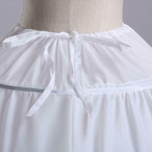6Hoop Underskirt Ball Gown Long Skirts Petticoat Slips Dress-H For Wedding A7L9