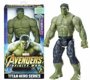 Hasbro Marvel Avengers Infinity War Hulk Power FX Port Action Figure Model Toys