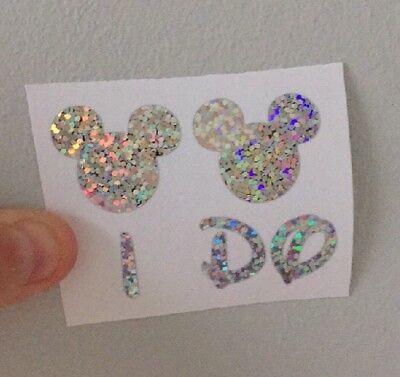 Zapato De Boda De Disney Vinilo yo, todos los colores disponibles